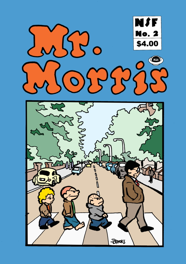 The first and second issues of Mr. Morris are available for $4.00 each postage paid.