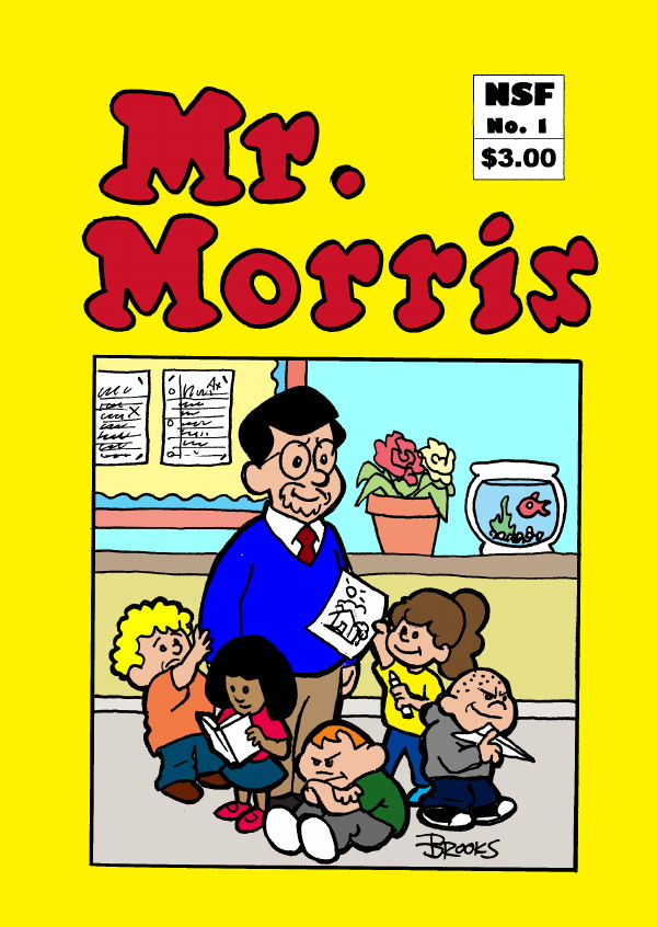 mrmorris comic cover